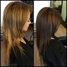 bob haircuts for damaged hair client came in with severely damaged over processed hair color and