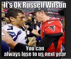 Russell Wilson Meme - garbage russell wilson quickmeme