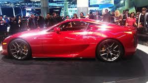 lexus lfa red lfa at toronto auto show clublexus lexus forum discussion