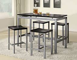 glamorous modern black dining tables contemporary furniture