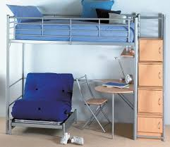Bunk Bed With Futon On Bottom Amazing Of Futon Bunk Bed Wood Kids - Futon couch bunk bed