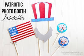 free printable photo booth props template patriotic photo booth printables i nap time