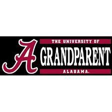 alabama alumni sticker alabama grandparent decal 6
