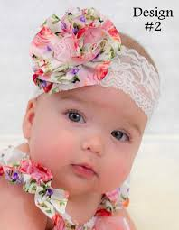 baby hair band baby headband headbands wrap vintage floral lace newborn