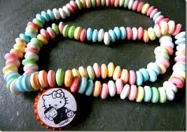 Edible Candy Jewelry Tricks For Treats Last Minute Ideas To Make Your Halloween Treats