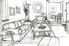 how to draw a bedroom google search interior perspective ref