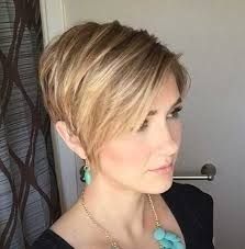 hairstyles for short hair at front long at the back stylish older women with short haircuts short hairstyles 2016