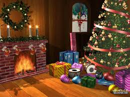 Holiday Living Room Clipart Christmas Scenes 2017 Grasscloth Wallpaper