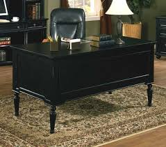 Solid Wood Office Desks The Elegance And Of Black Solid Wood Desk Ecmc2010