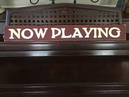 home movie theater signs now playing sign plaque movie home theater room decor wood