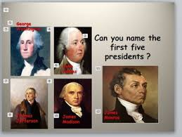 first five presidents presidents the fab five the first five presidents by sherry hallam