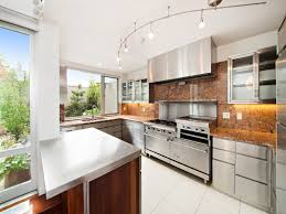 modern kitchens brooklyn this modern 4 5m townhouse by the williamsburg waterfront has an