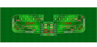 casino quality green craps layout spinettis gaming supplies
