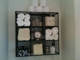 wall mount wire bathroom towel storage shelving diy bathroom towel