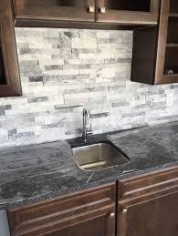 Kitchen Backsplash Stone Tiles Kitchen Ideas Landscaping Stones Interior Stone Manufactured