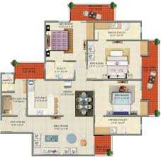 Luxury Castle Floor Plans 1850 Sq Ft 3 Bhk 3t Apartment For Sale In Charms India Castle Raj