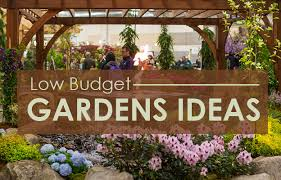 Budget Garden Ideas Low Maintenance Gardens Ideas On A Budget Ideal Home