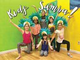 kids samba and santa capoeira
