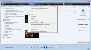 Teh Wmp configurando o windows media player 11 para compartilhar arquivos
