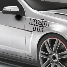 blow me turbo decal funny car vinyl sticker euro jdm racing window