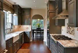 colors for kitchens with light cabinets grey kitchen cabinet in open space kitchen remodel dweef com