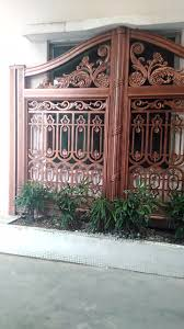 latest gate designs pillar post decoration for homes drive way