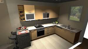 cuisine en forme de l cuisine moderne en forme de l