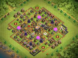 Coc Maps Post October 2016 Th11 Farm Bases Small Compilation