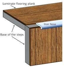 stair transition piece luxury vinyl plank flooring pinterest