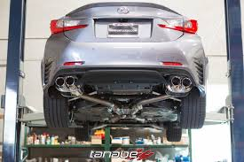 honda lexus 2015 new tanabe medalion touring exhaust for 2015 lexus rc350 awd