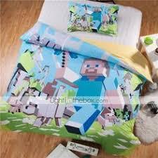 Minecraft Bed Linen - minecraft bedding set duvet cover set home textiles i found