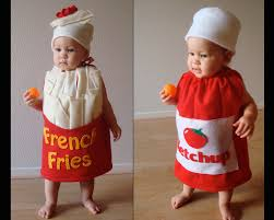 French Fry Halloween Costume Baby French Fry Costume Infant Newborn Toddler Halloween