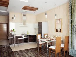 interior design black curved island white granite countertop