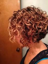 graduated bob for permed hair image result for stacked spiral perm on short hair hair
