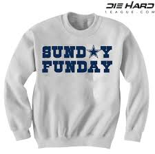 cowboys sweater dallas cowboys sweater sunday funday white sweatshirt