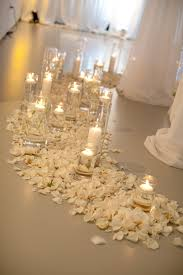 candle light dinner long island lauren greg s wedding the chuppa was encircled by creamy white