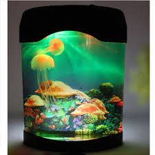 color changing led fish tank lights amazon com novelty led artificial jellyfish aquarium lighting fish