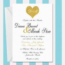 wedding invitations jacksonville fl black and gold printable wedding invitation gold glitter heart