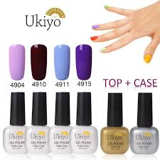 amazon com ukiyo macarons nail polish base u0026 top coat soak