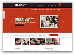 30 beautiful clean church themes 2018 colorlib