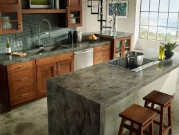 Kitchen Design With Bar Counter Furniture Traditional Kitchen Design With Corian Countertops And