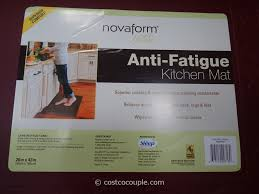 kitchen mats costco floor anti fatigue lowes foam standing to