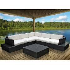 Patio Sectional Modway Port 6 Piece Outdoor Patio Sectional Set U0026 Reviews Wayfair