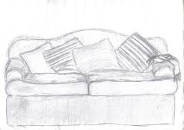 Sofa Drawing by My Sisters Couch Drawing By Ashrafg On Deviantart