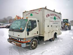 electric truck for sale 1998 mitsubishi fe hd single axle box truck for sale by arthur