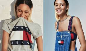 you u0027ll want everything from tommy hilfiger u0027s u002790s inspired collab