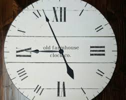 fixer upper clock etsy