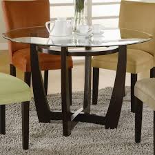 interior dining table hidden leaves round dining table with