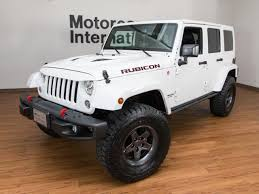 white jeep 2017 2017 jeep wrangler unlimited rubicon 4x4 hard rock
