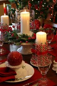 christmas dinner table decorations top 100 christmas table decorations candy canes holidays and
